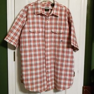 Men's Timberland button up shirt